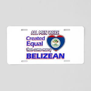 Liberian Wife Designs Aluminum License Plate