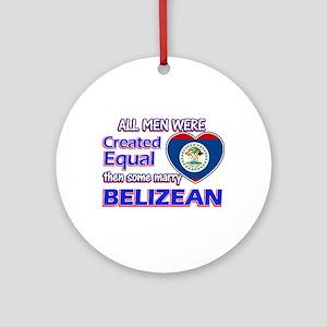 Liberian Wife Designs Ornament (Round)