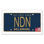 Delaware NDN Rectangle Sticker