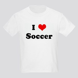 I Love Soccer Kids T-Shirt