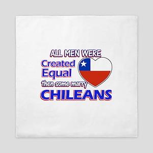 Chileans Wife Designs Queen Duvet