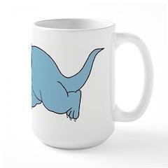 Todd Chasing Large Mug