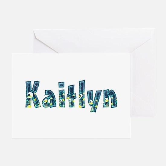 Kaitlyn Under Sea Greeting Card