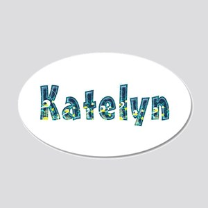 Katelyn Under Sea 20x12 Oval Wall Decal