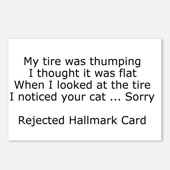 Rejected Hallmark Cards Postcards (Package of 8)