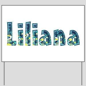 Liliana Under Sea Yard Sign