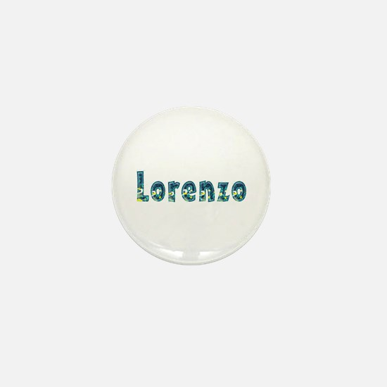 Lorenzo Under Sea Mini Button