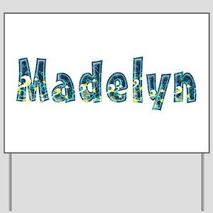Madelyn Under Sea Yard Sign