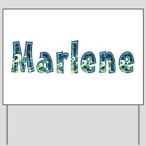 Marlene Under Sea Yard Sign