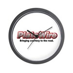 PlateWire Wall Clock