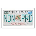 Oklahoma NDN Pride Rectangle Sticker