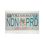 Oklahoma NDN Pride Rectangle Magnet (10 pack)
