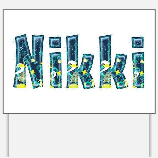 Nikki Under Sea Yard Sign