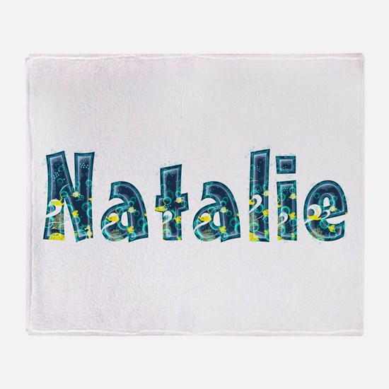 Natalie Under Sea Throw Blanket