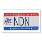 Ohio NDN Pride Rectangle Sticker