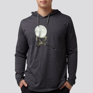 USBCrystalBall073011 Mens Hooded Shirt