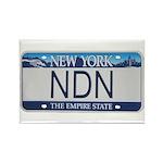 New York NDN Rectangle Magnet (10 pack)