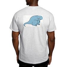 Sad Todd Ash Grey T-Shirt