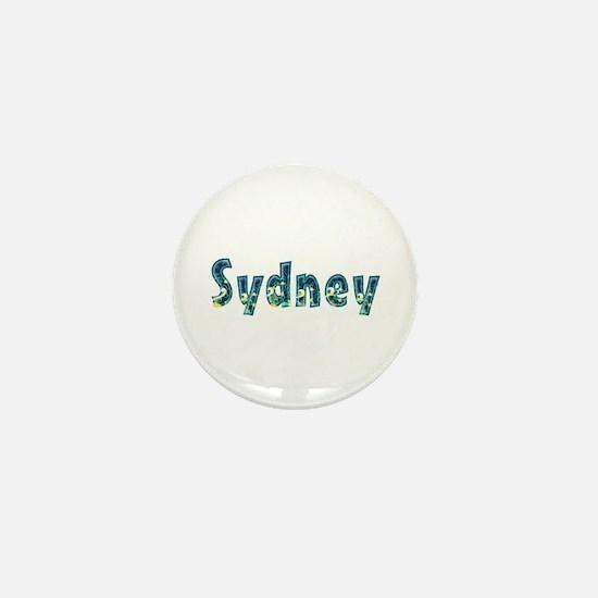 Sydney Under Sea Mini Button