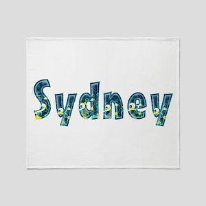 Sydney Under Sea Throw Blanket