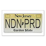New Jersey NDN Pride Rectangle Sticker