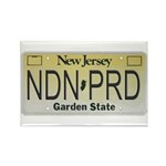 New Jersey NDN Pride Rectangle Magnet (100 pack)