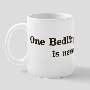 One Bedlington Terrier Mug