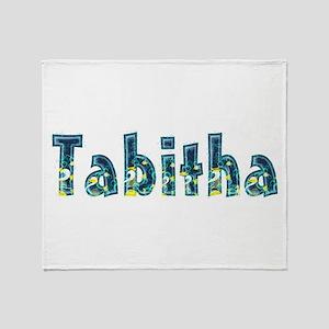 Tabitha Under Sea Throw Blanket