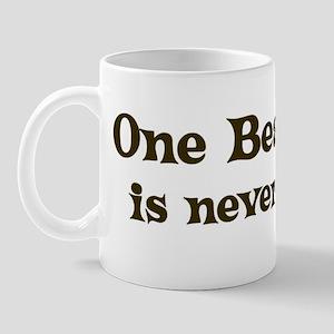 One Beauceron Mug