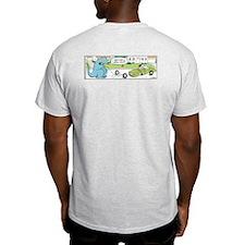 Wrong Tooth Ash Grey T-Shirt
