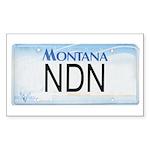 Montana NDN Pride Rectangle Sticker