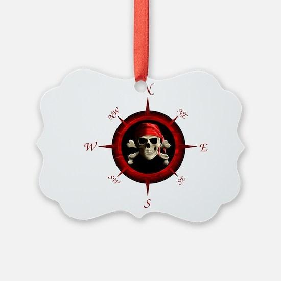 Pirate Compass Rose Ornament
