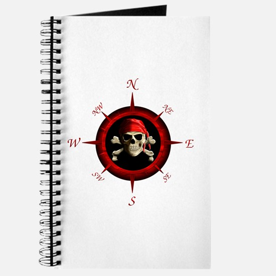 Pirate Compass Rose Journal