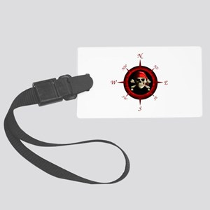 Pirate Compass Rose Luggage Tag