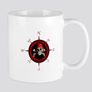 Pirate Compass Rose Mug