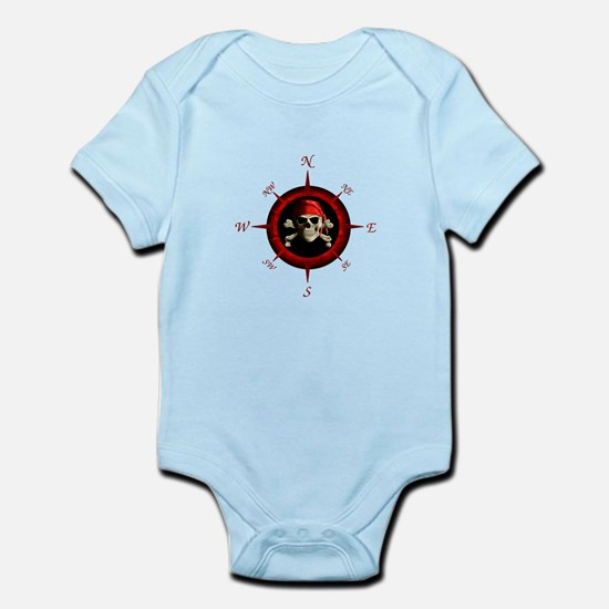 Pirate Compass Rose Body Suit