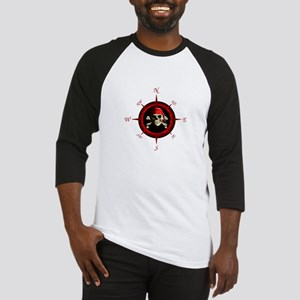 Pirate Compass Rose Baseball Jersey