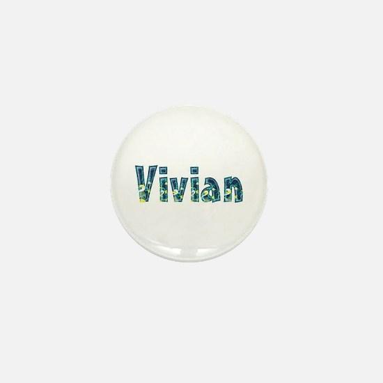 Vivian Under Sea Mini Button