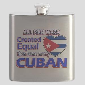 Cuban Wife Designs Flask