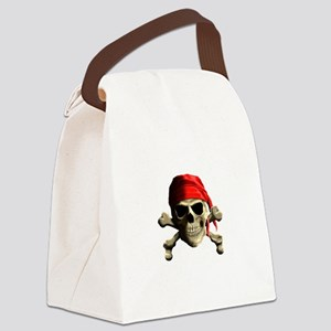 Jolly Roger Canvas Lunch Bag