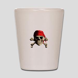 Jolly Roger Shot Glass