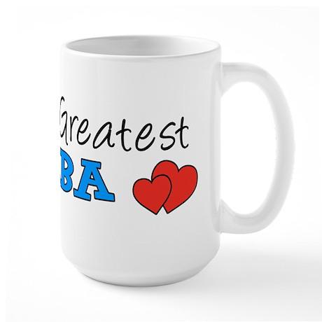 Worlds Greatest Baba Large Mug