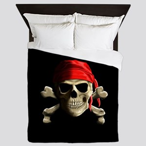 Jolly Roger Queen Duvet