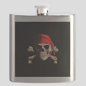 Jolly Roger Flask