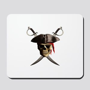 Pirate Skull And Swords Mousepad