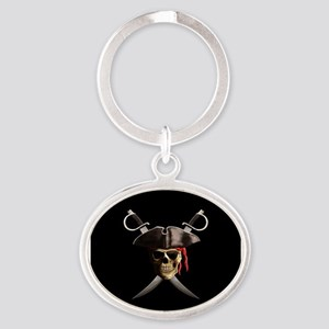 Pirate Skull And Swords Keychains