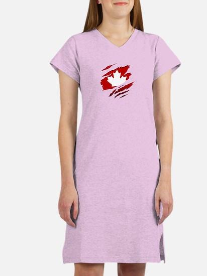 Cute Vancouver Women's Nightshirt