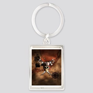 Pirate Map Keychains