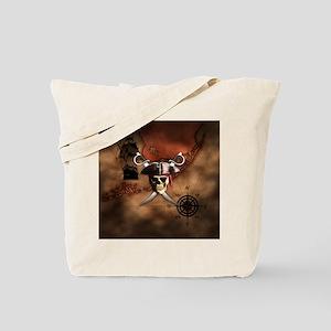 Pirate Map Tote Bag