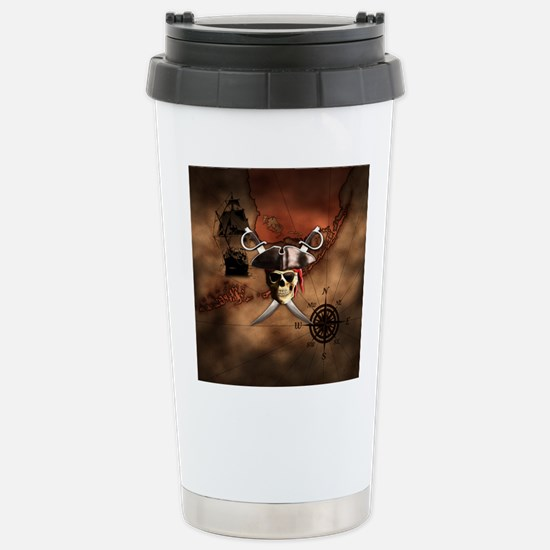 Pirate Map Travel Mug